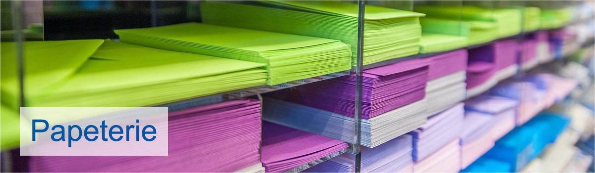 Bürobedarf Klaus - Erding- Produktsortiment Papeterie